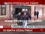 polis kamerasi - Molotufçular Yandı
