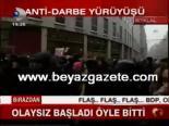 protesto - Anti - Darbe Yürüyüşü