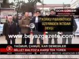 protesto - Millet Balyoz'a Karşı Tek Yürek