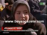 protesto - Eylemde 41. Gün