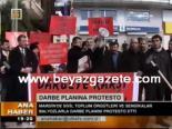 protesto - Balyoz'a Balyozlu Tepki