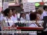 protesto - İşçiler sokakta
