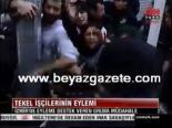 protesto - İzmir'de eyleme destek veren gruba müdahele
