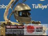 Türkiye'nin İlk İnsansı Robotu Suralp Görücüye Çıktı