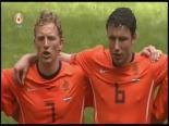 Hollanda Macaristan'a Yarım Düzine Gol Attı