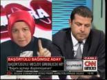 Bağımsız Türbanlı Aday Cüneyt Özdemir'i Şaşkına Çevirdi