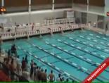 Havuza Daldı Hiç Nefes Almadan Yarışı Bitirdi