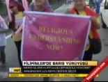 filipinler - Filipinler'de barış yürüyüşü