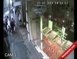 İlginç Gasp Anları Güvenlik Kamerasında Ve Mobesede
