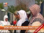 Dört milyon müslüman hacı oldu online video izle