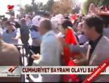 Cumhuriyet Bayramı olaylı başladı online video izle