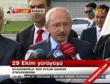 Ulus Meydan'ındaki biber gazlı 29 Ekim kutlamaları ardından Kılıçdaroğlu'ndan ilk açıklama