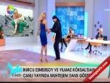 Burcu Esmersoy'a canlı yayın sürprizi