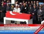 Şehit Üsteğmen Yakup Çınar'ın Cenaze Namazı