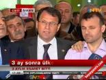 Gazeteci Cüneyt Ünal Ankarada Ailesiyle Buluştu