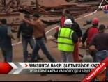 Samsun'da bakır işletmesinde kaza online video izle