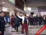 Elazığ'da Galatasaray'a Çoşkulu Karşılama