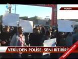 aytug atici - Vekilden polise: Seni bitiririm