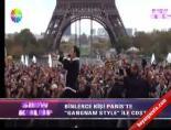 Binlerce Kişi Gangnam Style İle Çoştu