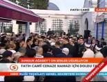 Mustafa Sungur Ağabey'in Cenaze Namazı