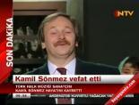 Ünlü Türkücü Kamil Sönmez Öldü