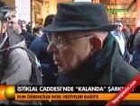 noel - İstiklal'de 'Noel'i kutlaması