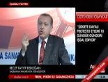 Başbakan Erdoğan: Sapanla polise demir bilye atıldı!Haberi