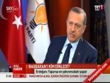 Başbakan Erdoğan TRT'de gündemi değerlendirdi