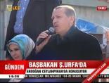Başbakan Erdoğan:Oradan provoke etme