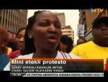 Mini Etekli Protesto