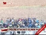 polis kamerasi - Polise atacaktı elinde patladı