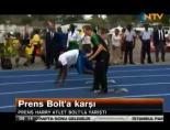 Usain Bolt Prens Harry'e Karşı
