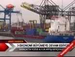 ihracat rakamlari - Ekonomi Büyümeye Devam Ediyor