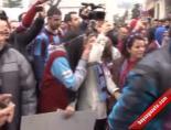 Trabzonsporlu taraftarlardan Fenerbahçe'ye tepki
