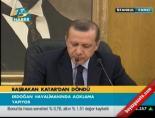 Başbakan Erdoğan Katar Dönüşü Konuştu