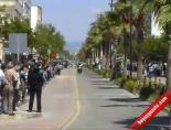 Cumhurbaşkanlığı Türkiye Bisiklet Turunda Kaza