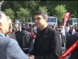 Dolmabahçe'de Toplanan Gruplar Yürüyüşe Geçti (İşçi Bayramı)