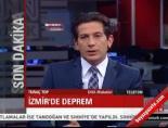 izmir korfezi - İzmir Körfezi'nde deprem