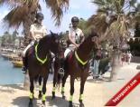 Atlı Jandarmalar Side Antik Kentte Göreve Başladı