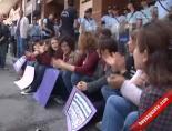 Kadınlar Polis Yumrukladı