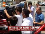 istanbul adliyesi - Tatlıses'ten 'Hayde' sürprizi