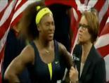İşte Serena Williamsın Kupa Sevinci