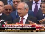 Kılıçdaroğlu, Adnan Menderesin Mezarını Ziyaret Etti