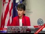 Myanmarlı muhalif lider ABD'de