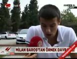 sehit aileleri dernegi - Milan Baros'tan örnek davranış!