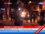 beytussebap - Şırnak'ta Hain Saldırı