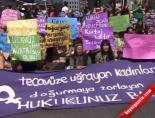 Kadınlardan Taksimde Kürtaj Protestosu