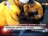 askeri helikopter - Hastalara Mehmetçik şevkati