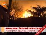 Galatasaray Üniversitesi Yangın - (Olay Yerinden Son Görüntüler)