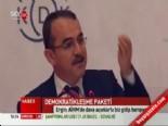 Sadullah Ergin Demokratikleşme Paketini Değerlendirdi